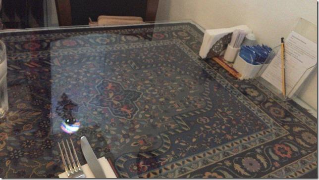 Alaturka テーブル